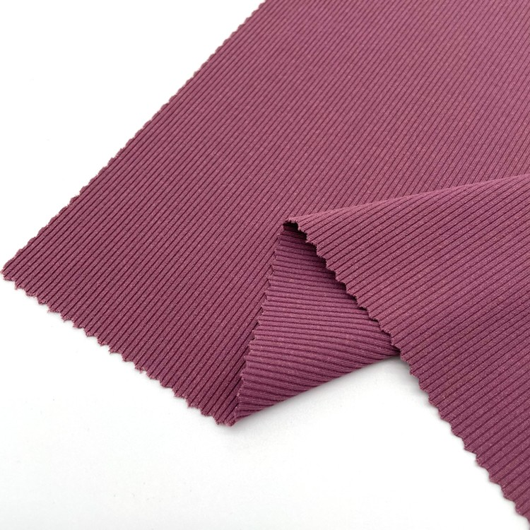 Rib 88% Polyester/CD+12% Spandex Fabric